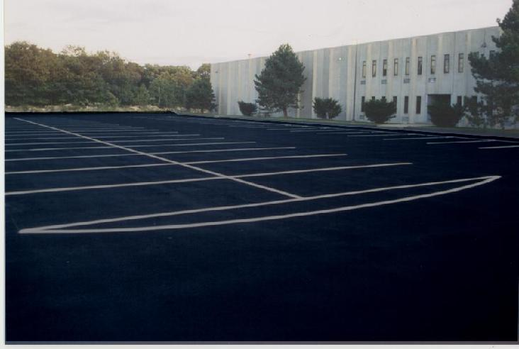 Over 200,000 square feet of commercial sealcoating work!